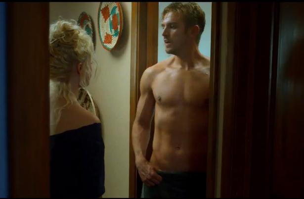 Dan-Stevens-shirtless-grab-The-Guest